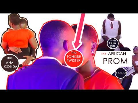 Horniest Teens In High School | The African College Party