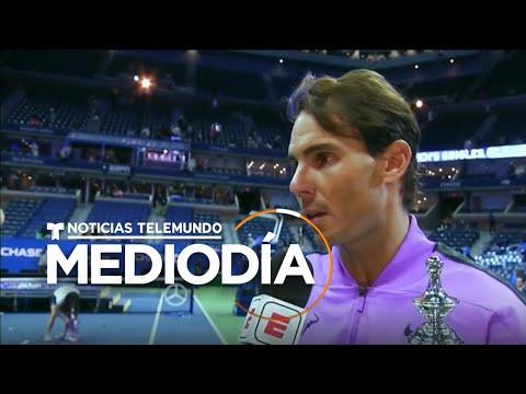 Rafael Nadal gana por cuarta vez el abierto de tenis de EEUU | Noticias Telemundo