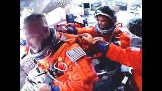 Full Cockpit Launch + Crew audio Last Space Shuttle ♦ STS-135