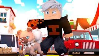 Rockruff  - (Pokémon) - Minecraft: TORNEIO PIXELMON DARK 🌑 ! - CONSEGUI UM ROCKRUFF !!! ‹ Ine ›