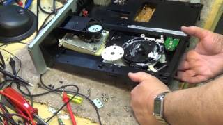 Sony 5 Disk CD changer diagnostics and repair