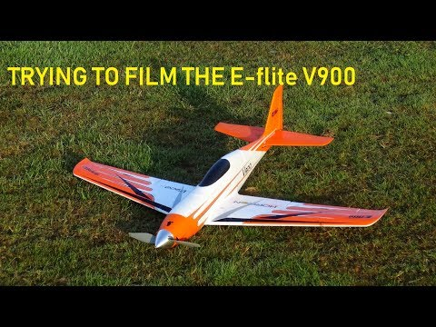trying-to-film-the-e-flite-v900