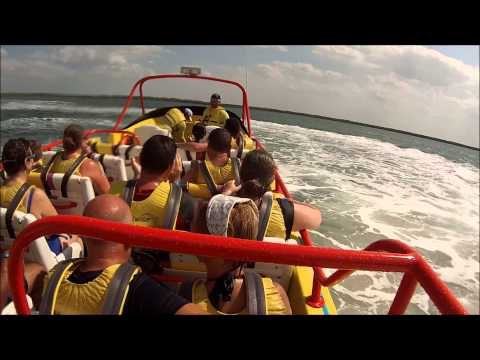 twister speed boat ride honey moon 2013 Cozumel mexico