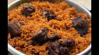 HOW TO PREPARE THE PERFECT JOLLOFF RICE || GHANA JOLLOF
