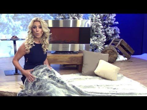 Elegante Webpelz-Decken für kalte Tage mit Katie Steiner (Januar 2017)