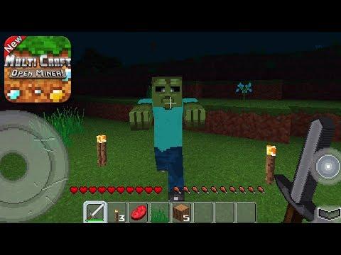 MultiCraft - Gameplay Trailer (iOS)