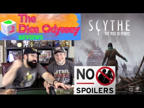 non-spoiler review by the Dice Odyssey