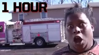 Not Today (The Building Is on Fire SONG)   ft. Michelle Dobyne - Songify This【1 HOUR】