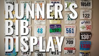 Runner's Bib Display