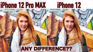 iPhone 12 Pro Max VS iPhone 12 Camera Comparison - Did Apple LIE to us?