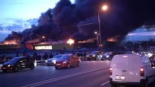 Срочный выпуск,новости Москва, пожар на Синдике, Строгино
