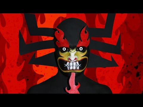 Aku! - Samurai Jack Makeup Tutorial!