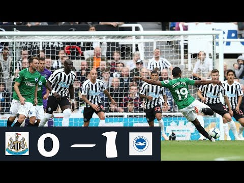 NEWCASTLE UNITED 0 - 1 BRIGHTON AND HOVE ALBION HIGHLIGHTS