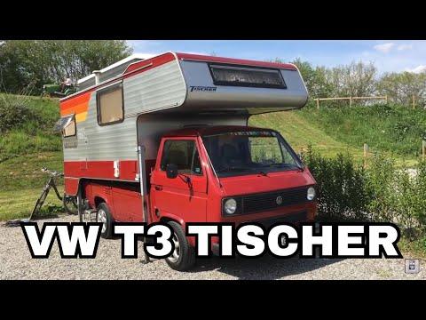 VW T3 mit TISCHER Aufbau Jahrgang 1983
