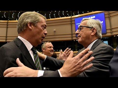 Γιούνκερ προς Βρετανούς ευρωβουλευτές: «Γιατί είστε ακόμα εδώ;»