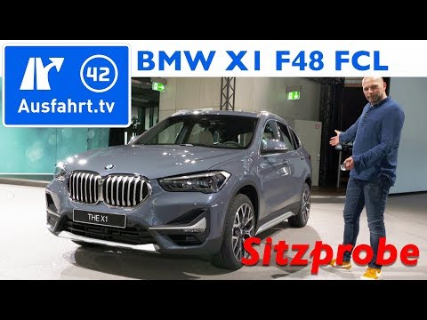 2019 BMW X1(F48 FCL) xDrive20i - Weltpremiere, Sitzprobe, kein Test
