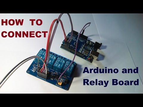 How to Connect Arduino and Relay Board