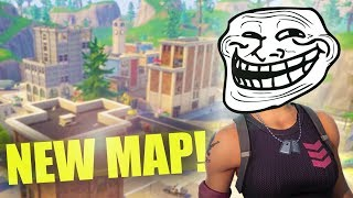 TROLLING PEOPLE AT TILTED TOWERS! *NEW FORTNITE MAP UPDATE!* | Fortnite Battle Royale