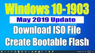 windows 10 version 1903 iso download - TH-Clip