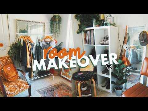 EXTREME ROOM MAKEOVER + ROOM TOUR | Vintage Aesthetic