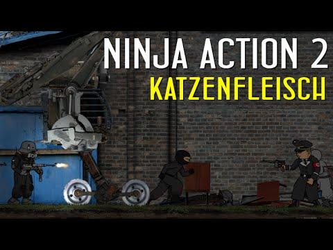 Ninja action: Chả biết nó là game hay phim ... nhưng nó phê