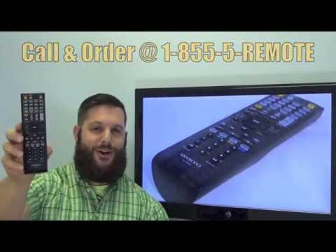 ONKYO RC880M Audio/Video Receiver Remote Control