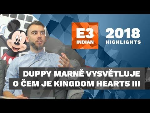 Duppy marně vysvětluje, o čem je Kingdom Hearts III - E3 2018 Highlight