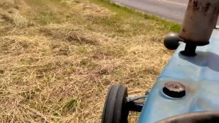 How To Rake Hay 2013