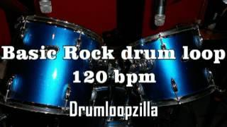 Basic rock drum loop #1 120 bpm