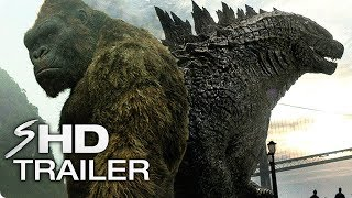 """Godzilla vs. Kong (2020) Official Tease """"Not the only King"""" End Credit – Godzilla: King of Monsters 