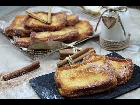 Torrijas sin lactosa (tradicionales, de miel y de naranja con chocolate)  / French Toasts