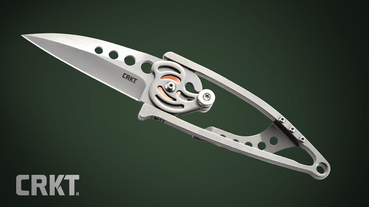 CRKT Snap Lock 5112N Taschenmesser, Serrated, Ed van Hoy Design ...