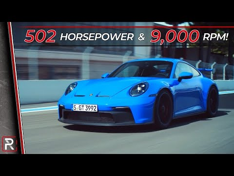 The 2022 Porsche 911 GT3 is the Racy Version of the 992 Carrera