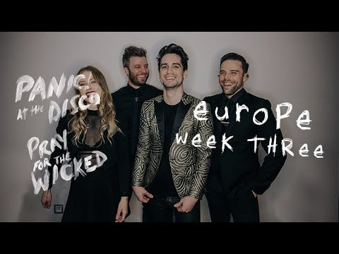 Panic! At The Disco - Pray For The Wicked Tour (Europe Week 3 Recap) - Panic! At The Disco