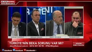 Fikir Meydanı- 12 Mart 2019- Serdar Üsküplü- Berhan Şimşek- Nazif Okumuş- Teoman Alili- Ulusal Kanal