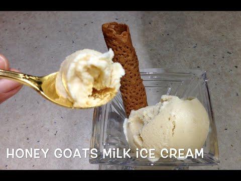 Video Goats Milk Honey Ice cream cheekyricho Thermochef Tutorial