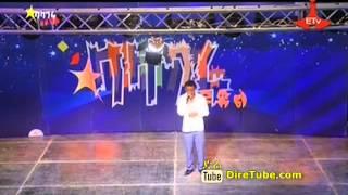 Balageru Idol Behailu Sisay, Vocal Contestant from Addis Ababa