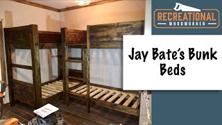 Double Bunk Beds Made With Plans From Jays Custom Creations