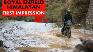 Royal Enfield Himalayan : First Impression : PowerDrift