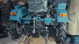 Трехточечное прицепное к мототрактору (опытный образец)