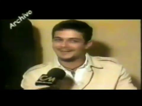 Alejandro Sanz video Entrevista Argentina - CM 1997