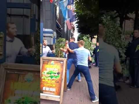 Beberam demais e foram brigar com o segurança. Veja no que deu!