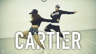 CARTIER   Dopebwoy Ft Chivv & 3robi @oleganikeev Choreography ANY DANCE