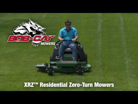 2021 Bob-Cat Mowers XRZ 61 in. Kawasaki FR730V 726 cc in Melissa, Texas - Video 1