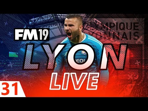 Football Manager 2019 | Lyon Live #31: Next Generation #FM19