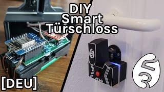 DIY Smarter Türschlossantrieb mit Akku WLAN & Bluetooth - DIY Smart Home [DEU]
