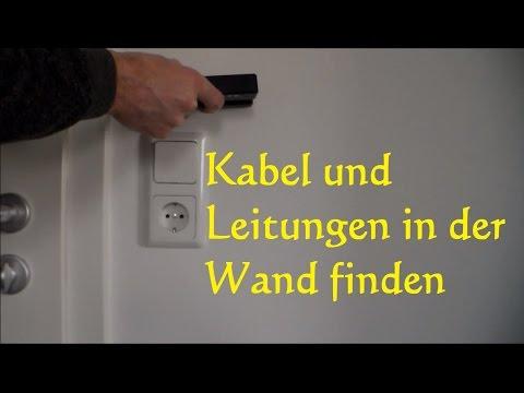 Wie finde ich Stromleitungen in der Wand - Kabel Wasserleitung angebohrt