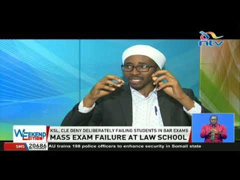 Concerns rife as over 80% of students at KSL fail bar exams