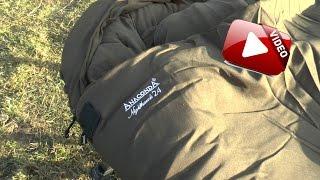 Fullrun Karpfenangeln Vorstellung Anaconda Nighthawk 24 Schlafsack
