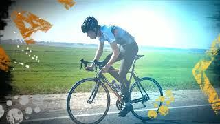 Тренировка по велоспорту на шоссе в рабочем ритме